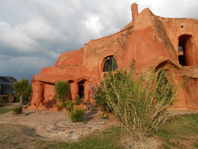 casa de barro, Villa de Leyva, Colombia