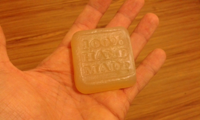 Permacultura, jabón hecho a mano