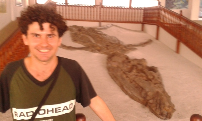 elvio dinosaurio villa de leyva, fosil