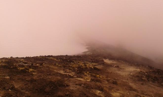 crater central etna